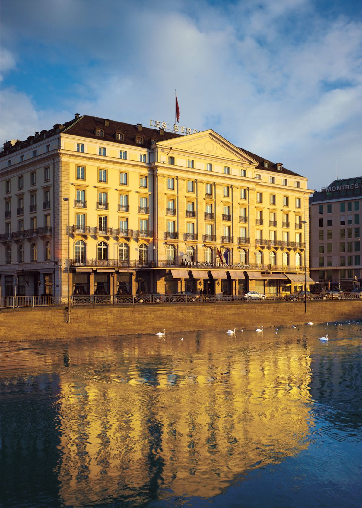 Four Seasons Hotel des Bergues, Geneva, Switzerland