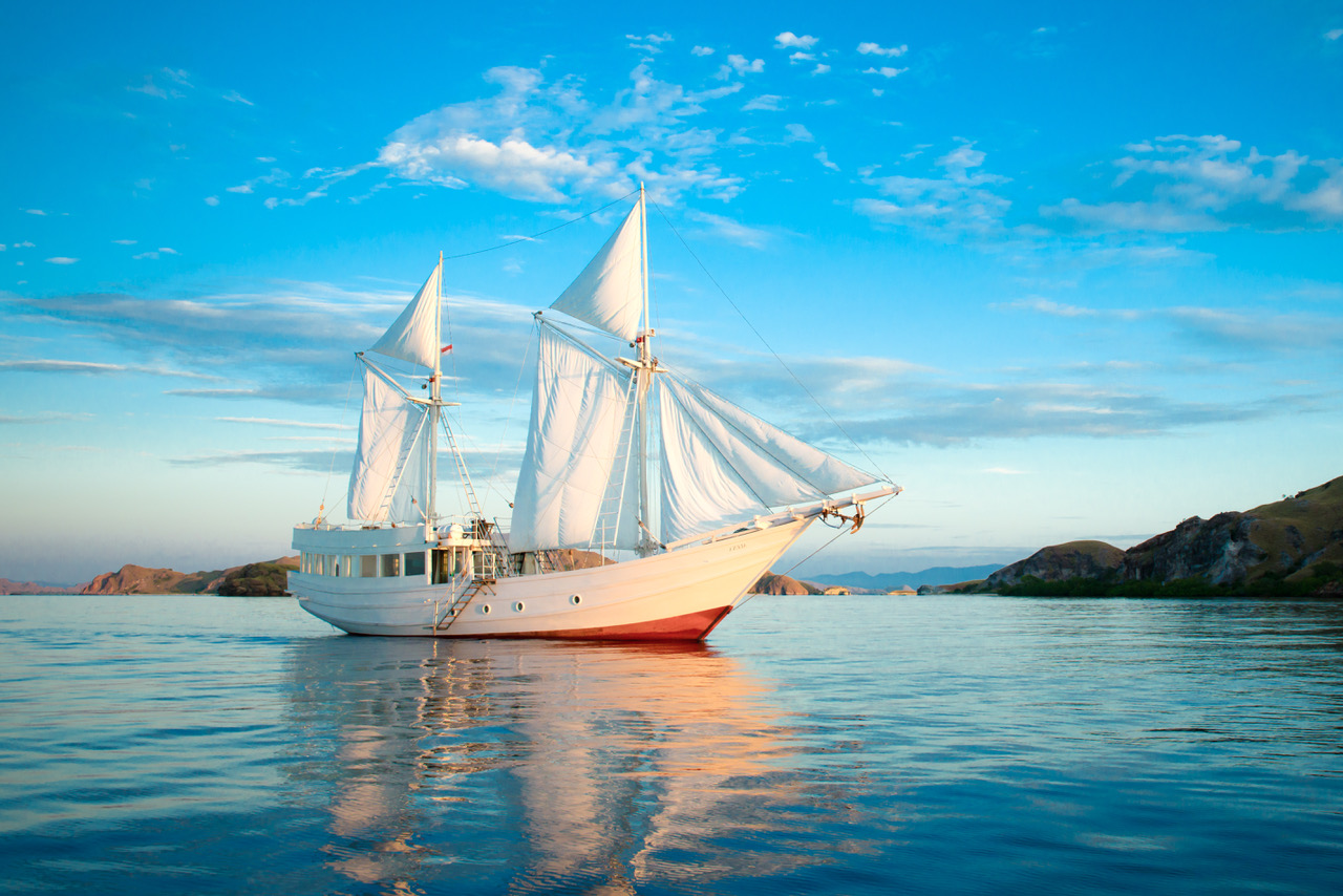 Sailing Through Indonesia - Luxury Yacht Charters