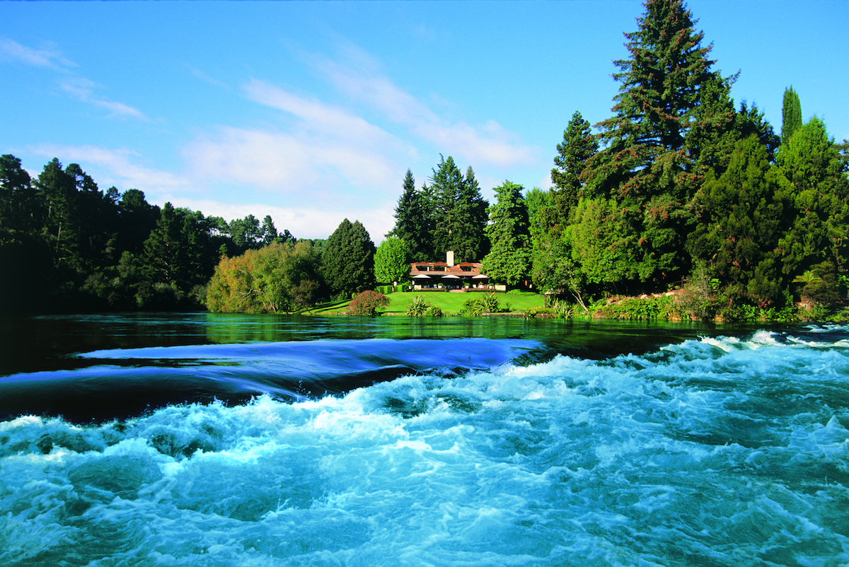 Huka Lodge, Taupo, New Zealand