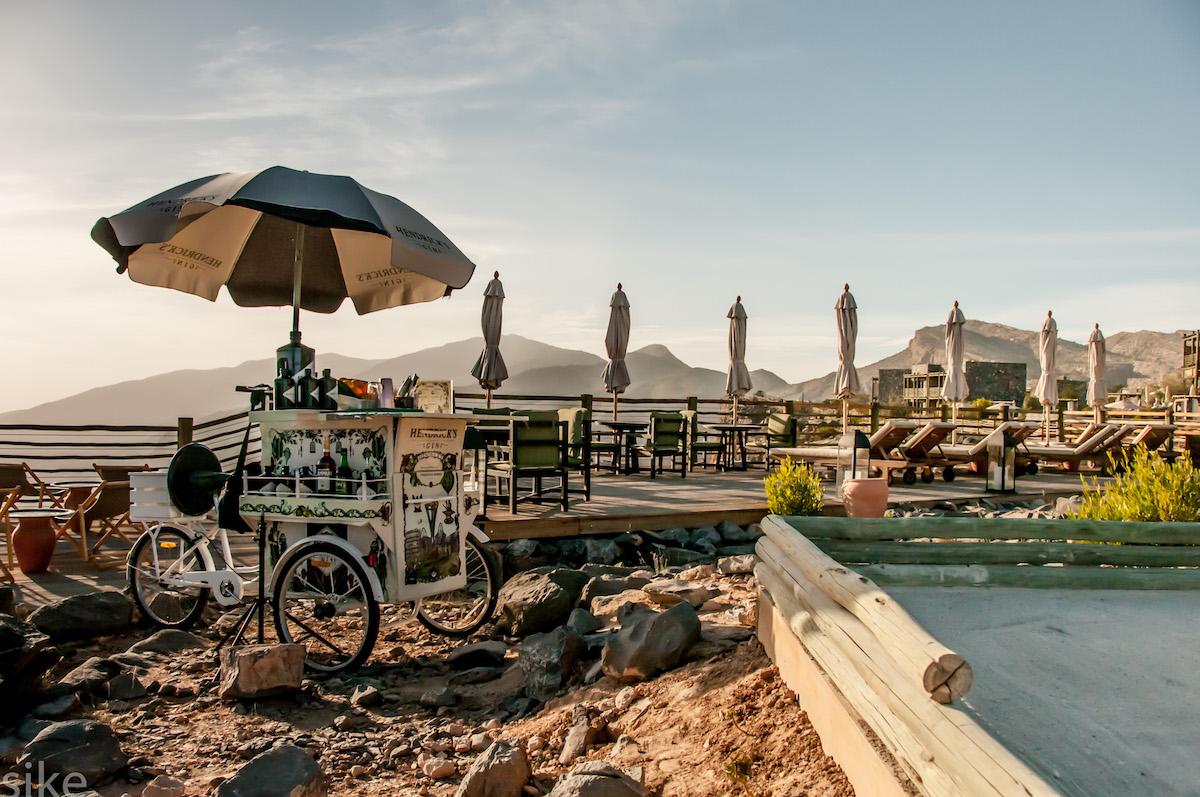 Alila Jabal Akhdar Oman Pool Drinks