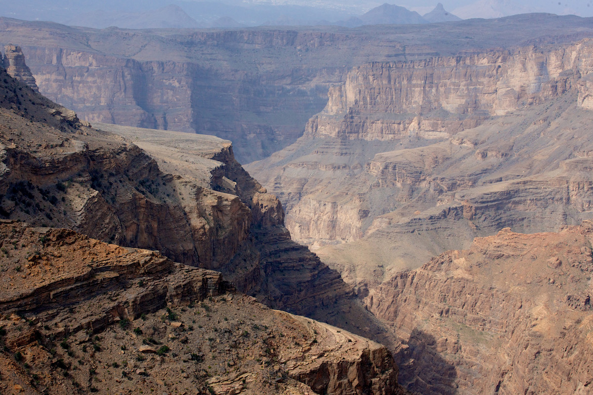Alila Jabal Akhdar Oman canyon