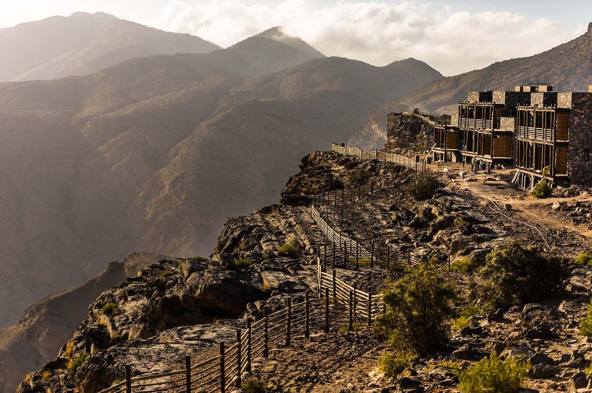 Alila Jabal Akhdar Oman Clifftop Hotel