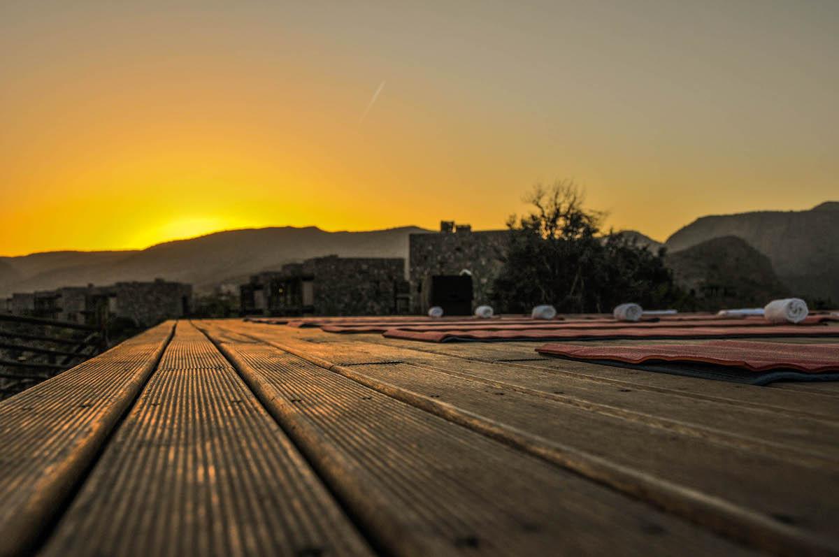Alila Jabal Akhdar Oman Yoga