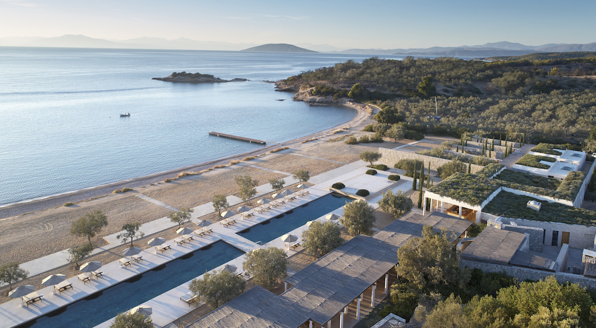 Amanzoe Beach Club Greece