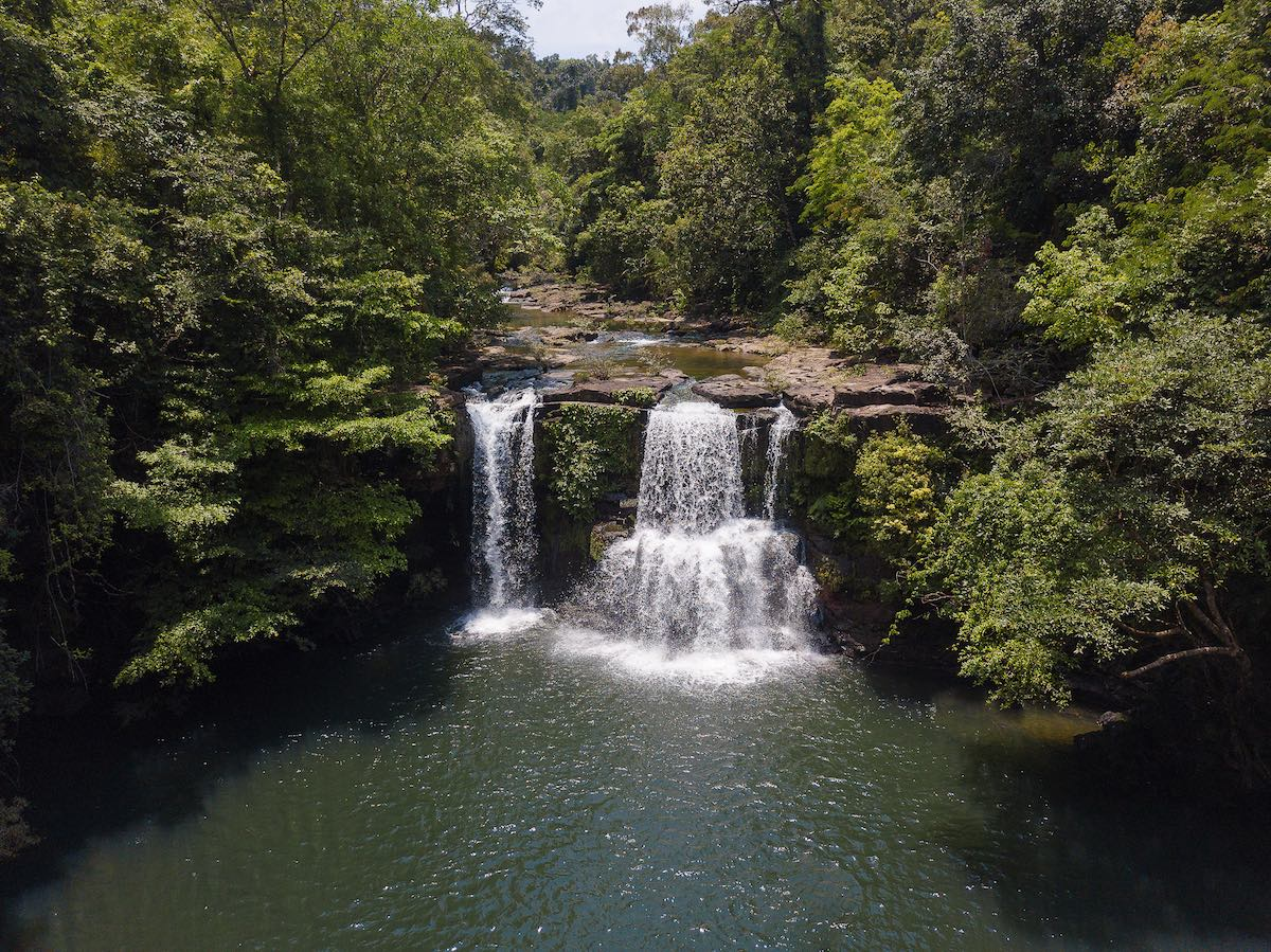 Soneva Kiri Waterfalls